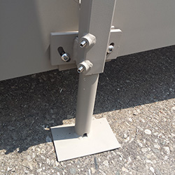 Modular leg of QRamp which can be adjusted to any height